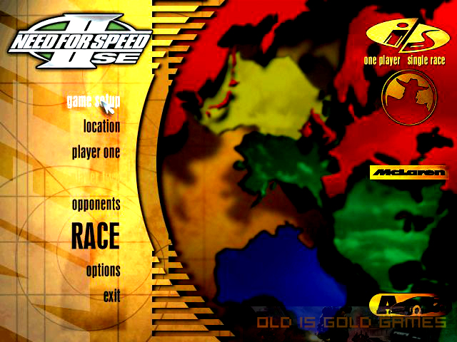 Need For Speed II Setup Download For Free