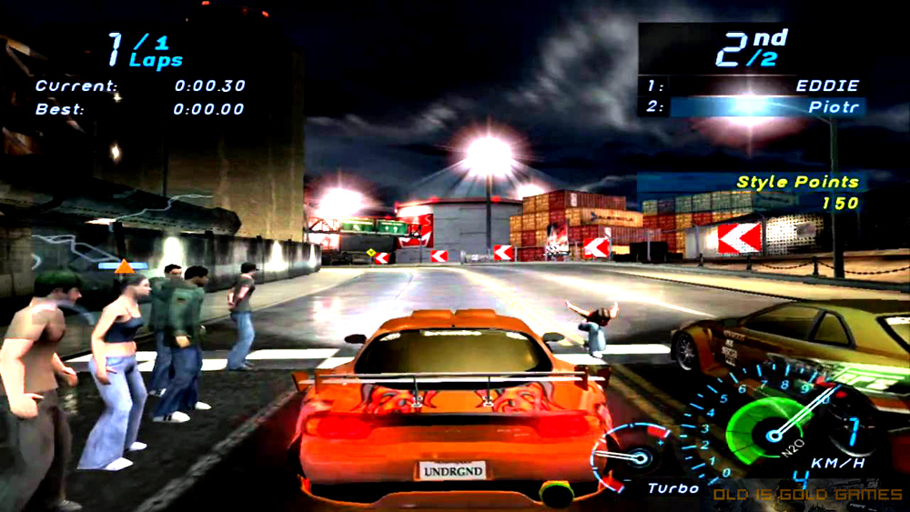 Need For Speed Underground Features