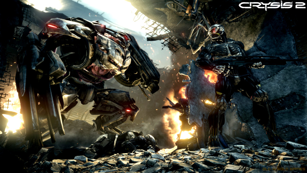 Crysis 2 Features