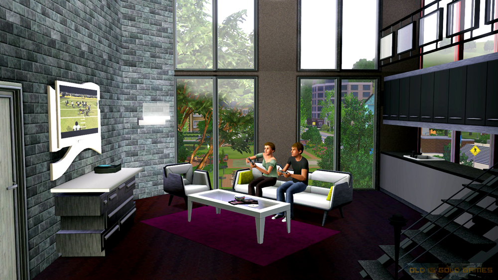 The Sims 3 High End Loft Stuff Download For Free
