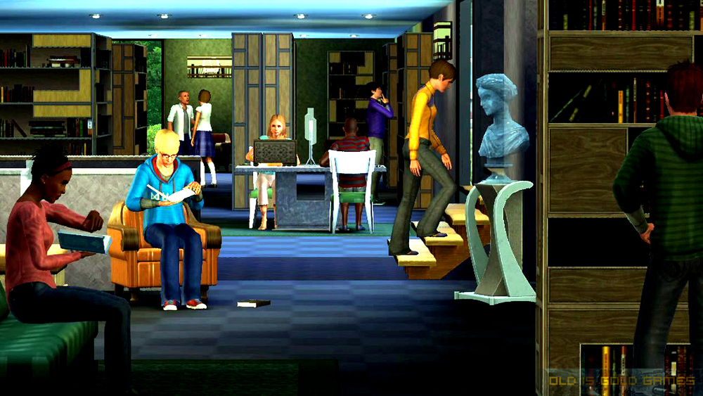 The Sims 3 Town Life Stuff Features