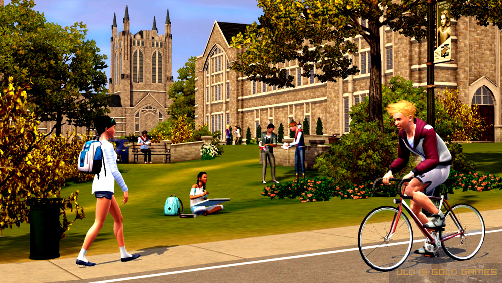 The Sims 3 University Life Features