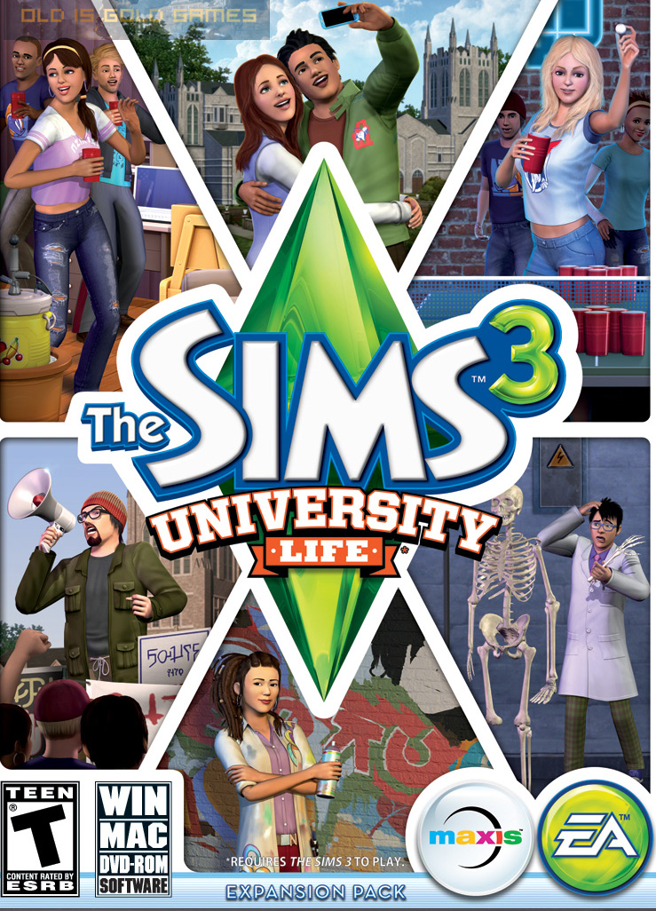 The Sims 3 University Life Free Download