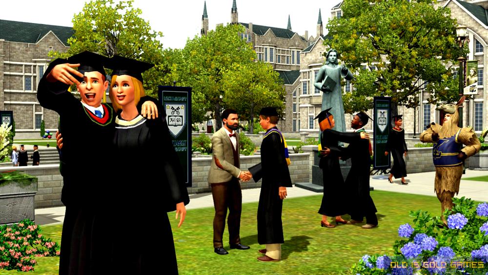 The Sims 3 University Life Setup Free Download