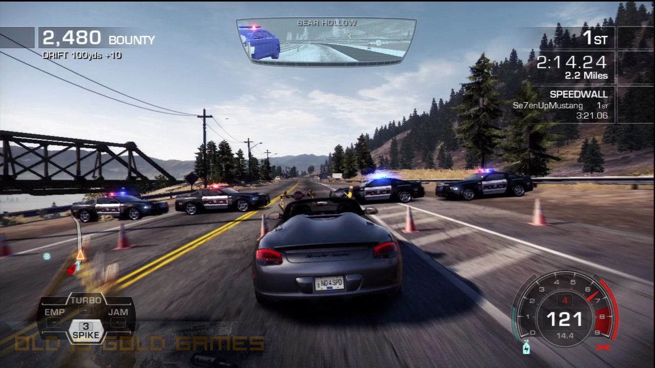 Need For Speed Hot Pursuit Features