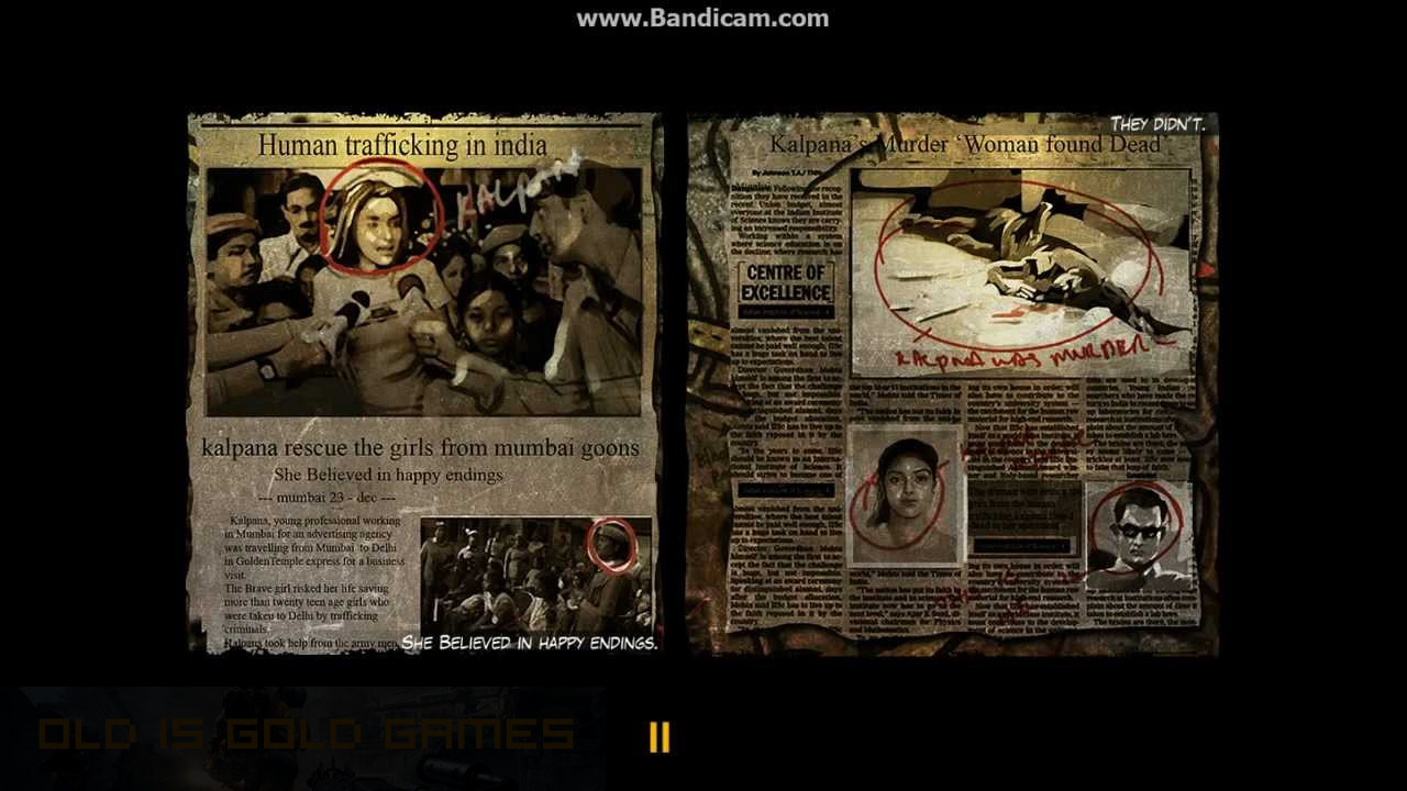 Ghajini The Game Features