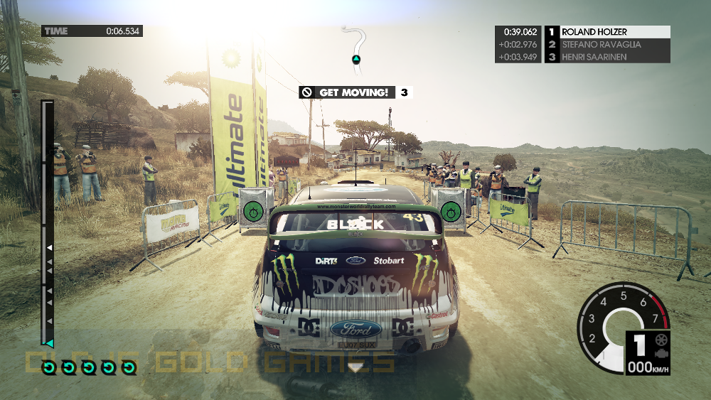 DiRT 3 Features