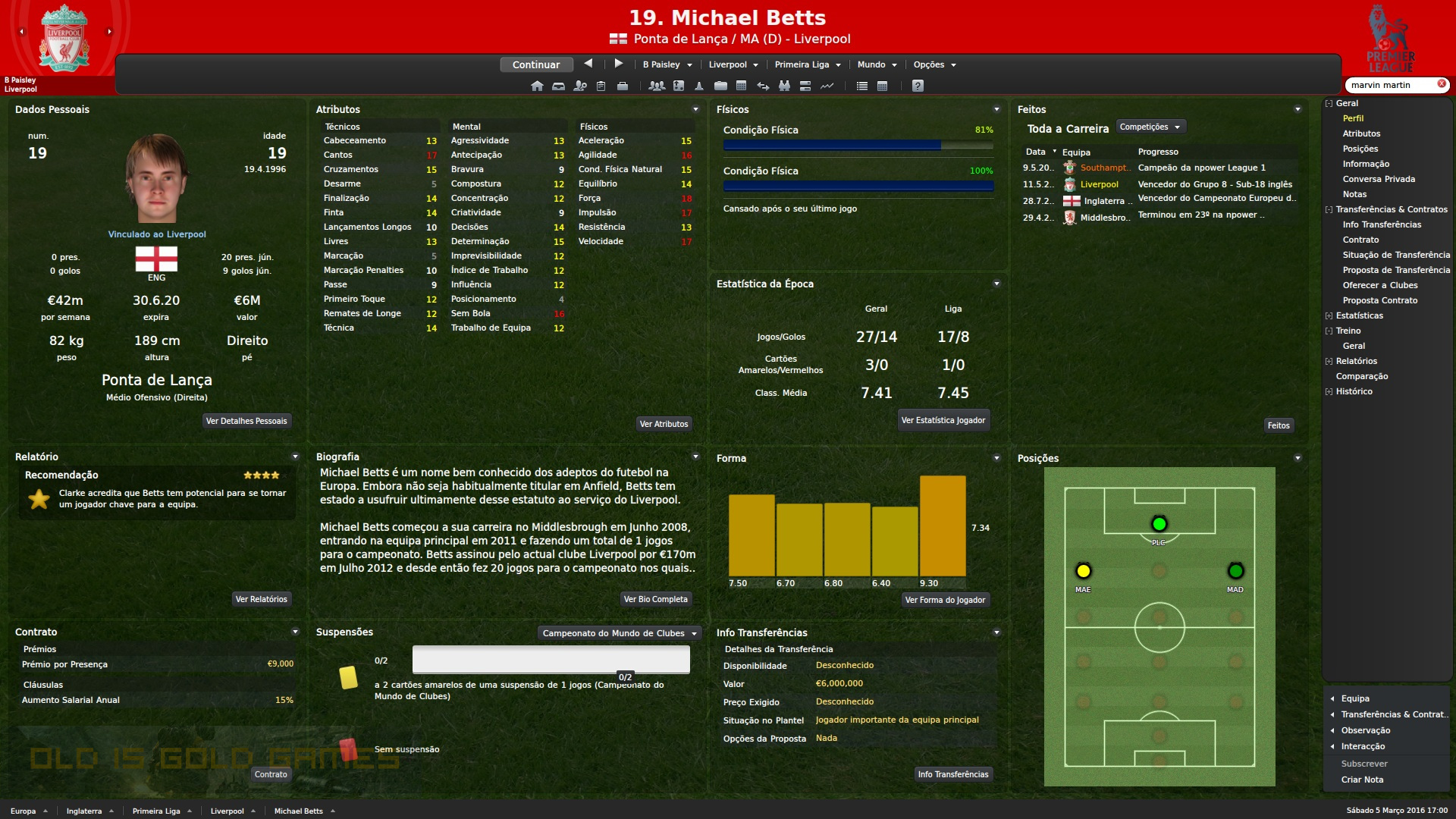 Football Manager 2012 Features