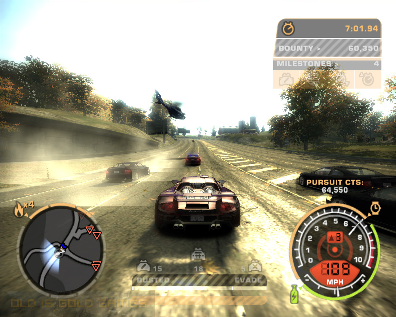 Need For Speed Most Wanted Black Edition Features