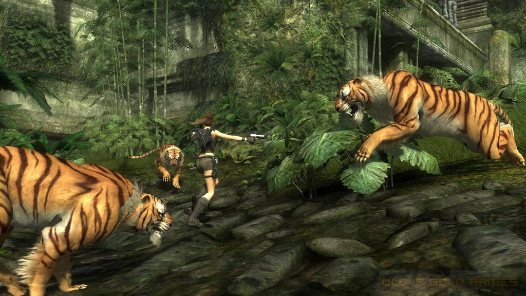 Tomb Raider Underworld Features