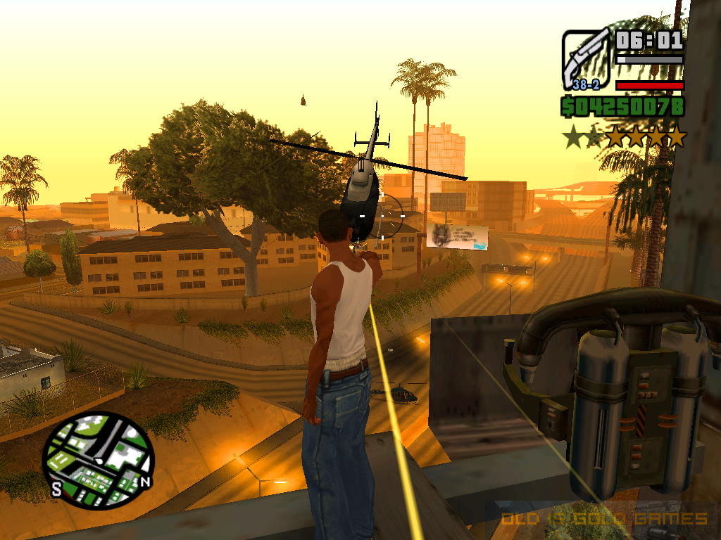GTA San Andreas Features