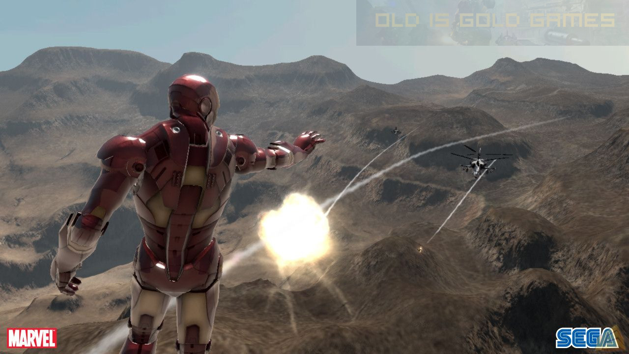 Iron Man Features