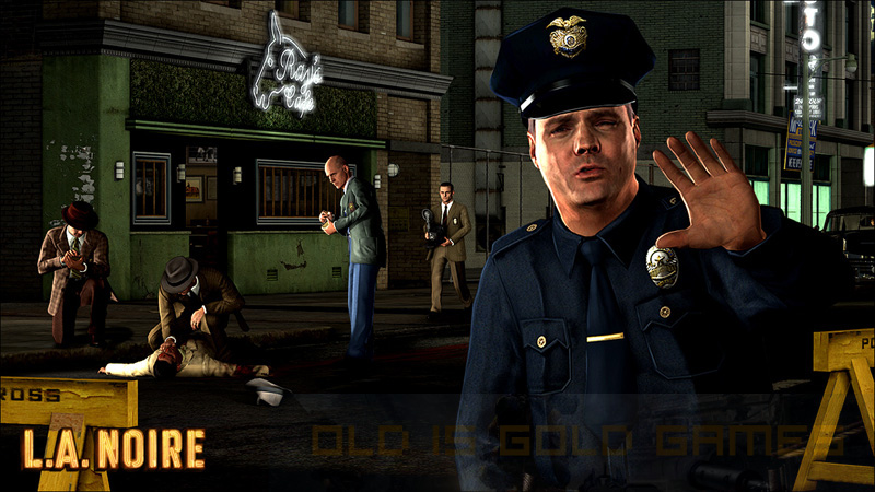 LA Noire Download For Free