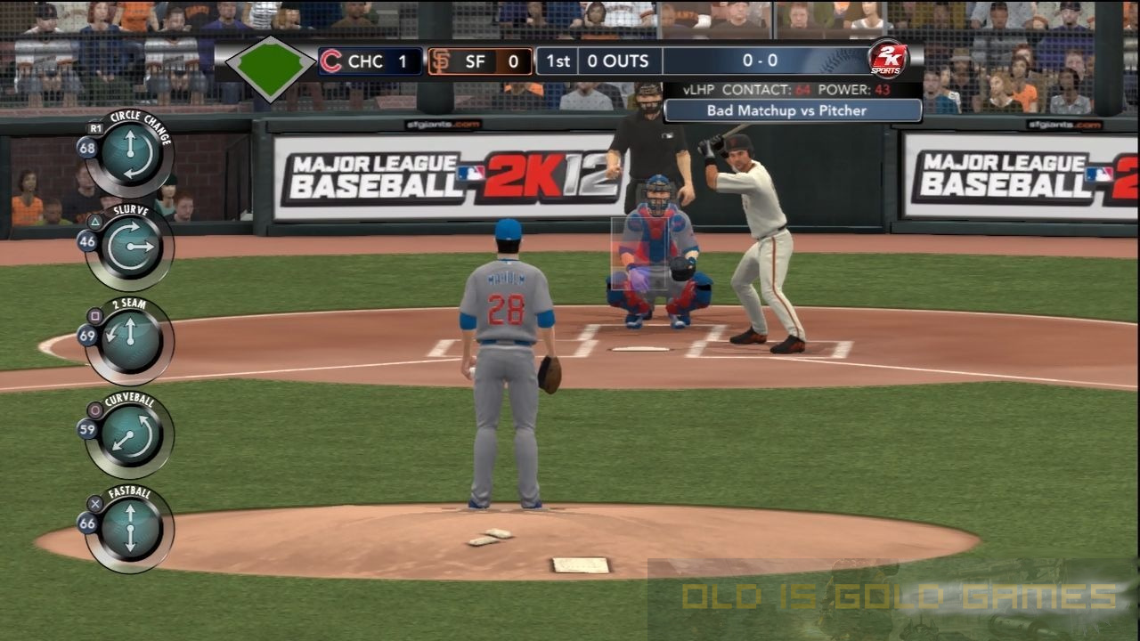 Major League Baseball 2K12 Download For Free