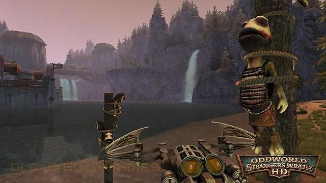 Oddworld's Stranger's Wrath Features