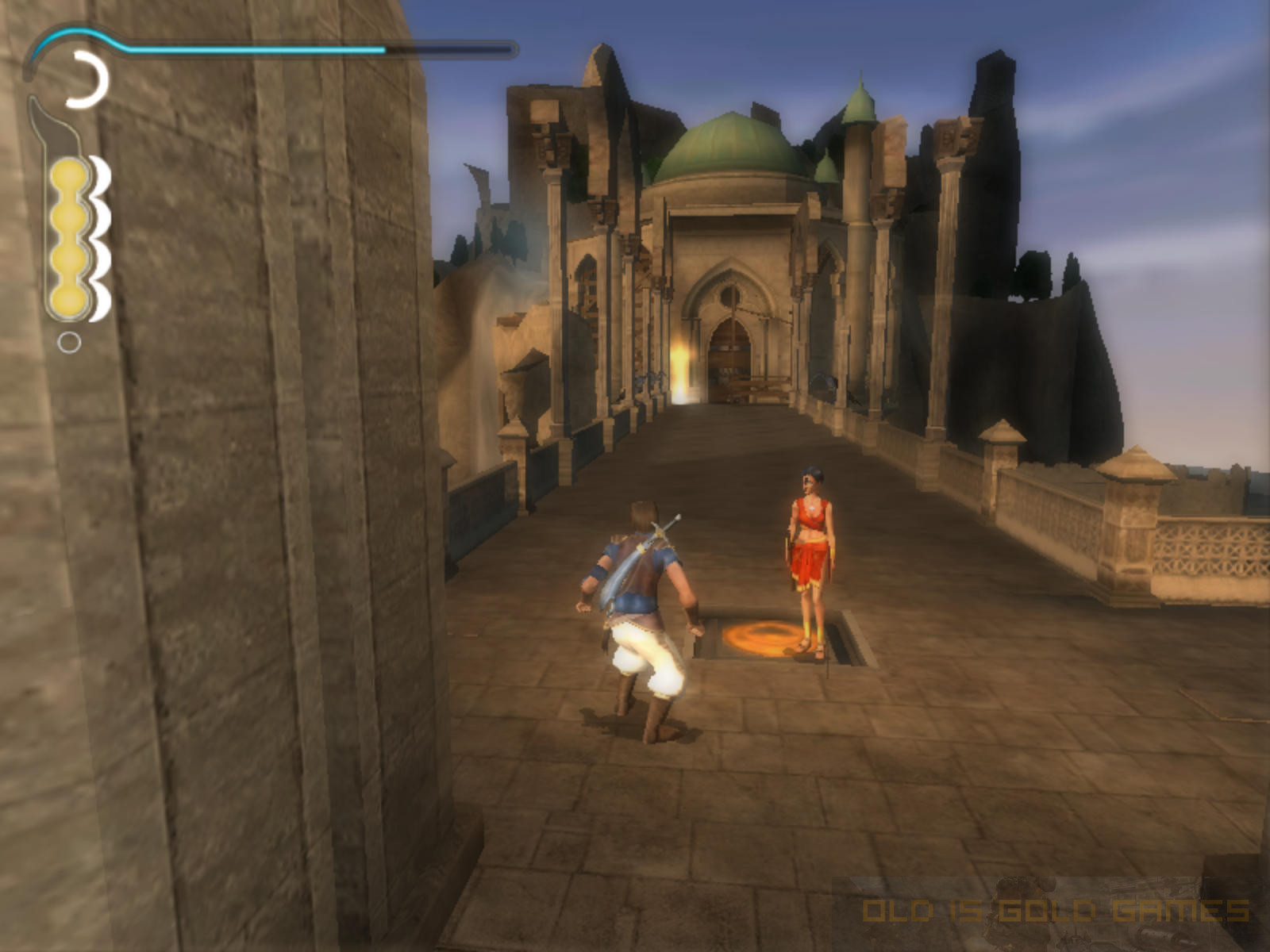 Prince of Persia The Sands of Time Features