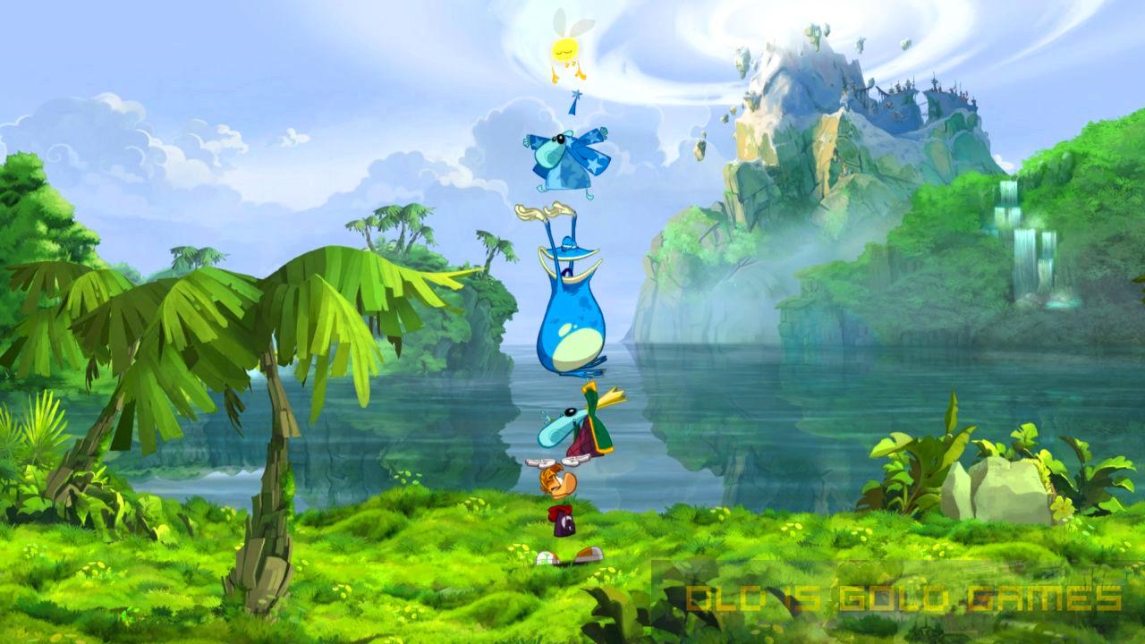 Rayman Origins Features