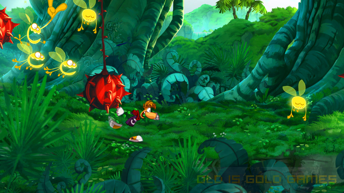 Rayman Origins Setup Free Download