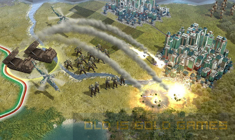 Sid Meiers Civilization V Features