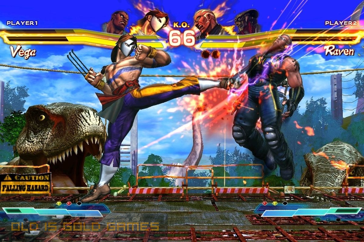 Street Fighter X Tekken Features