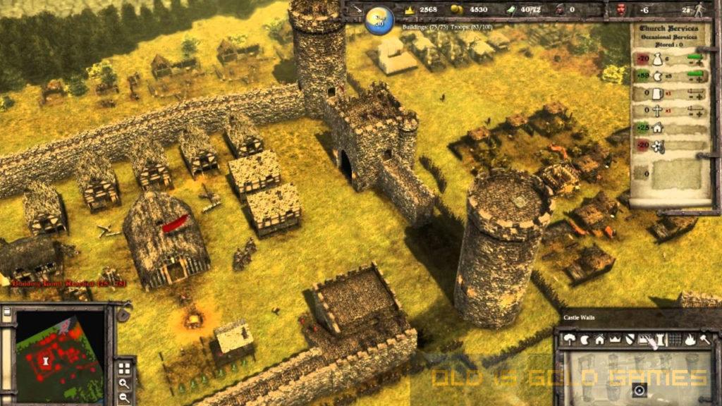 Minas tirith | stronghold 2 maps.