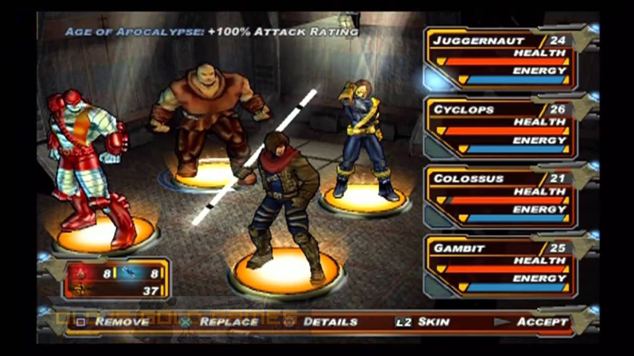 X-Men Legends II Rise of Apocalypse Download For Free