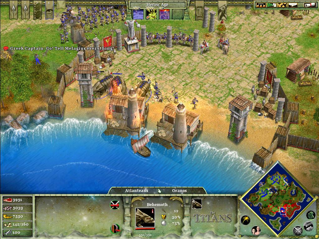 Age of Mythology: The Titans Features