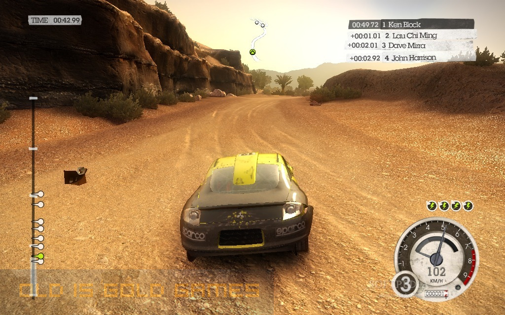 Colin McRae: Dirt 2 Features