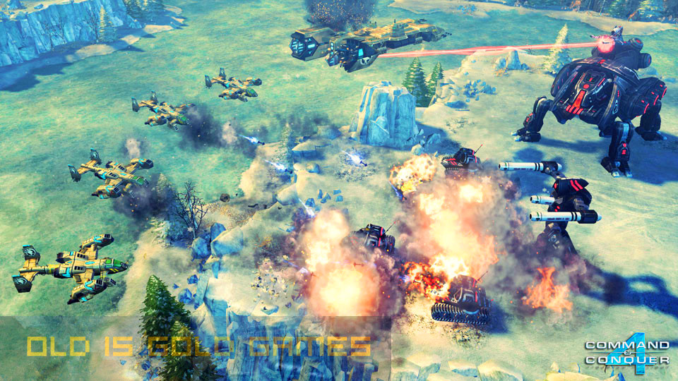 Command & Conquer 4 Tiberian Twilight Setup Free Download