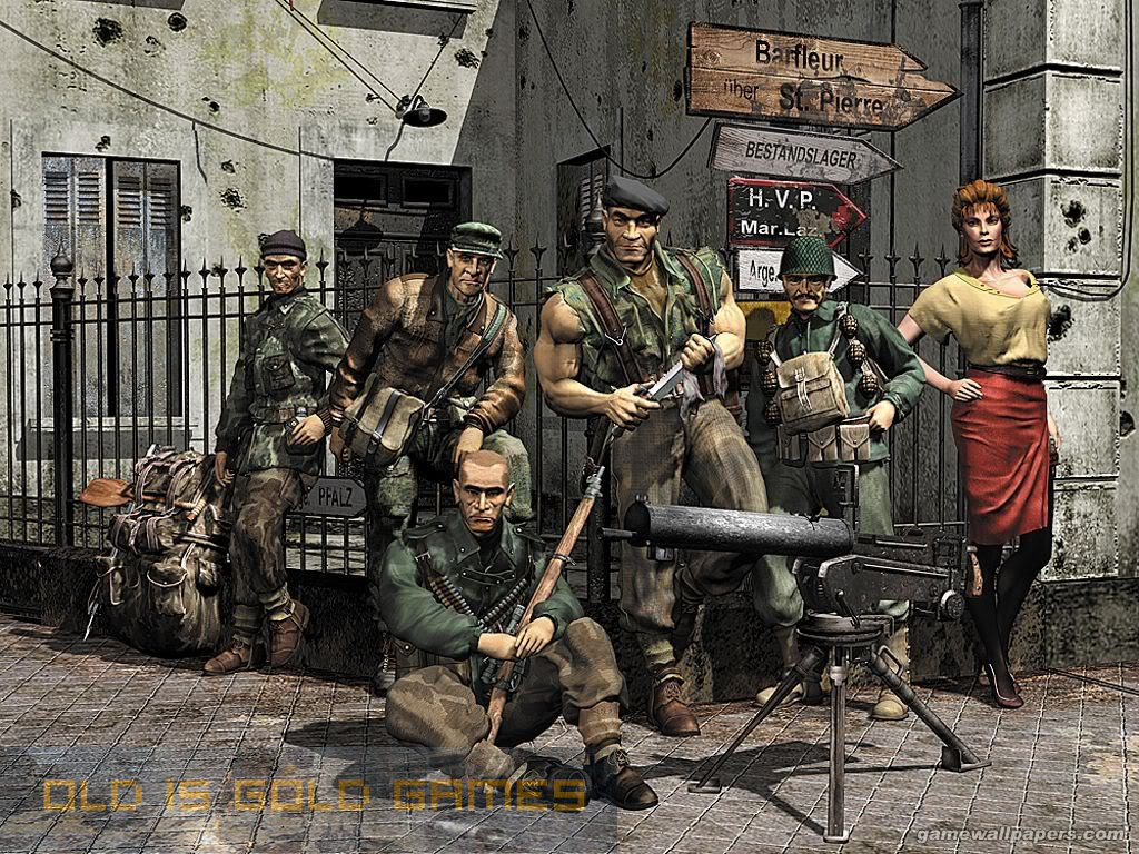 Commandos Behind Enemy Lines Features