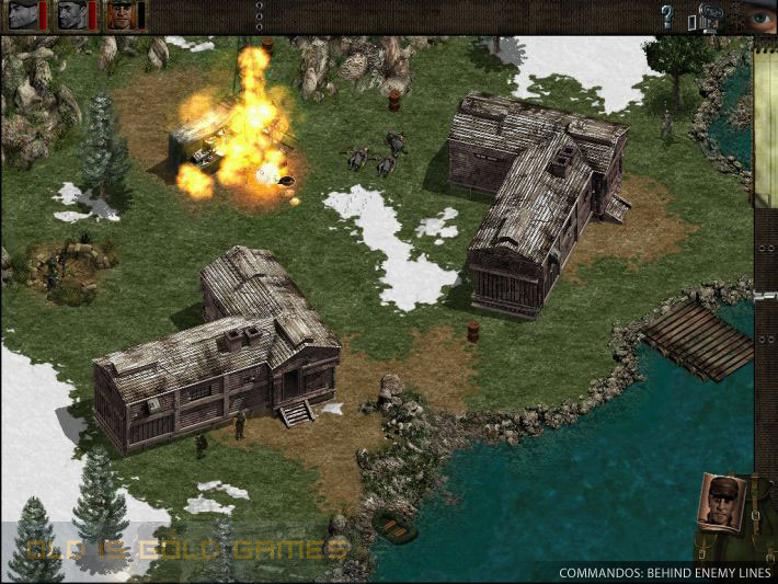 Commandos Behind Enemy Lines Setup Free Download