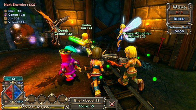 Dungeon Defenders Features