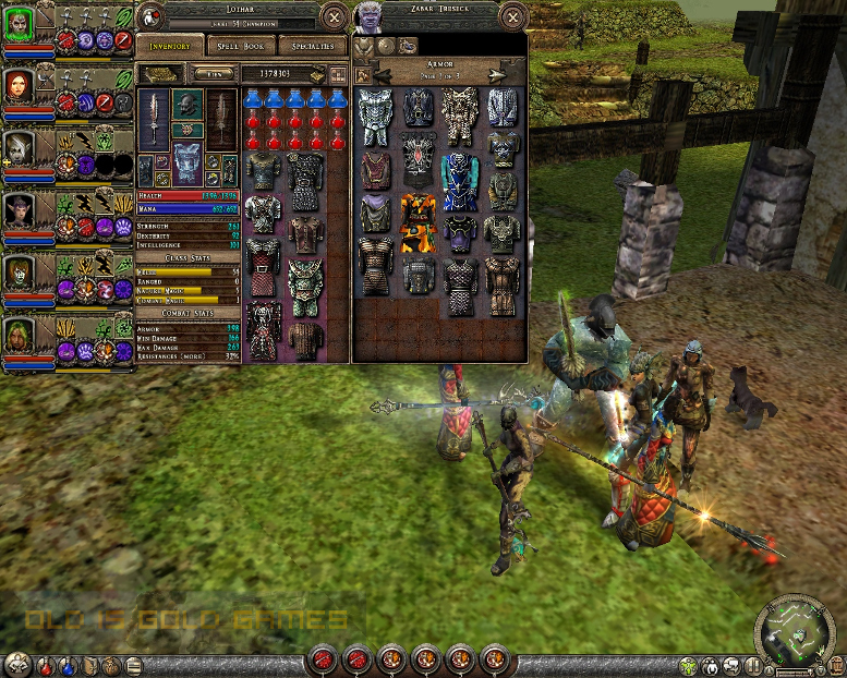 Dungeon Siege II Features
