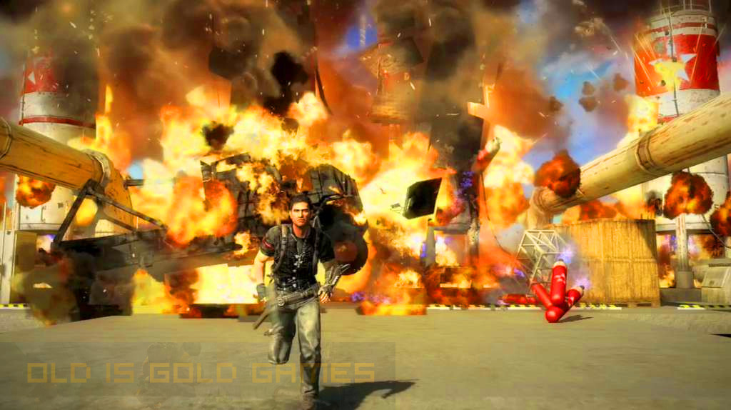 Just Cause 2 Features