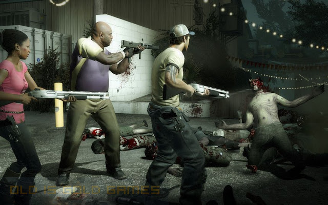 Left 4 Dead Features