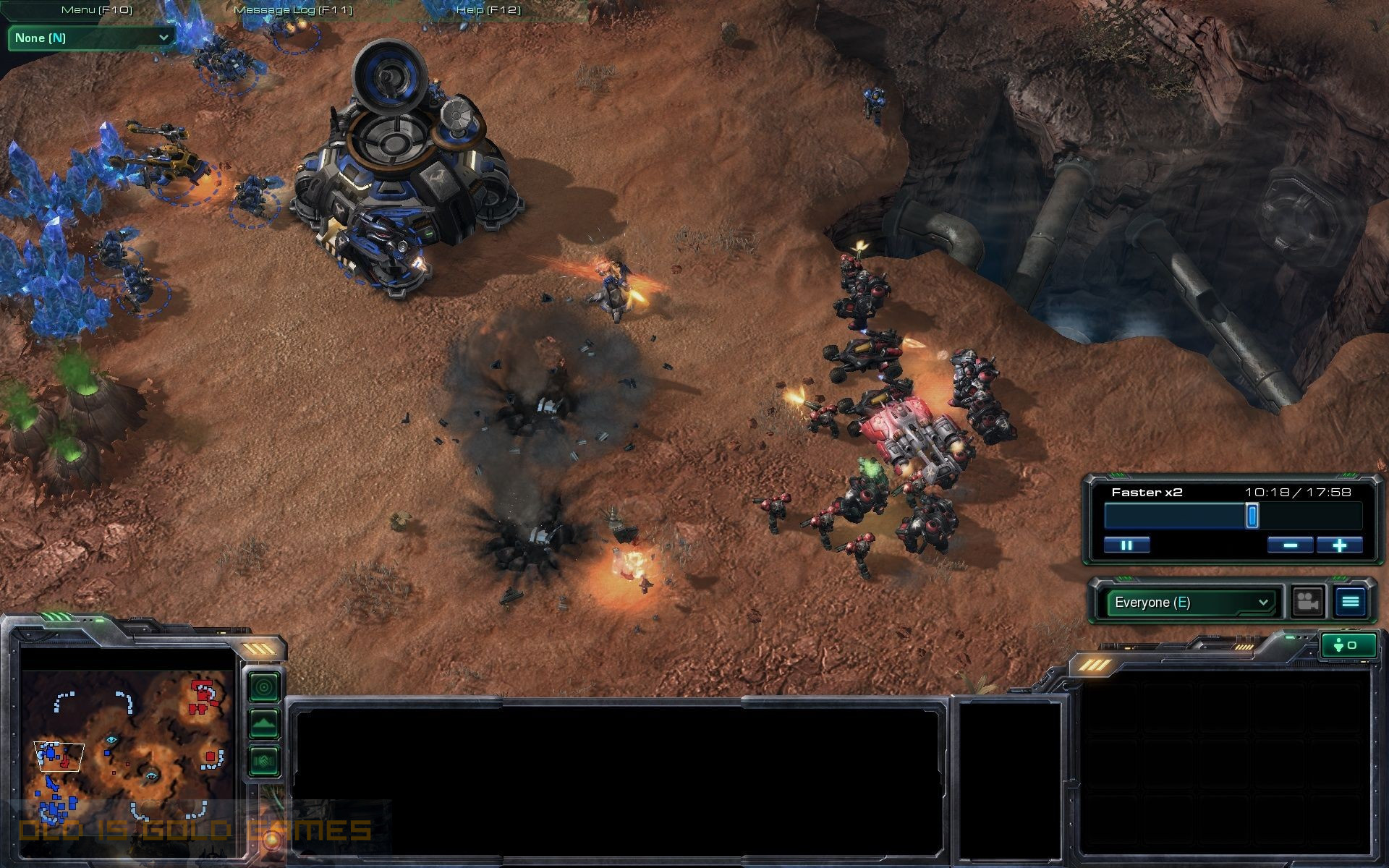 StarCraft II Wings of Liberty Features