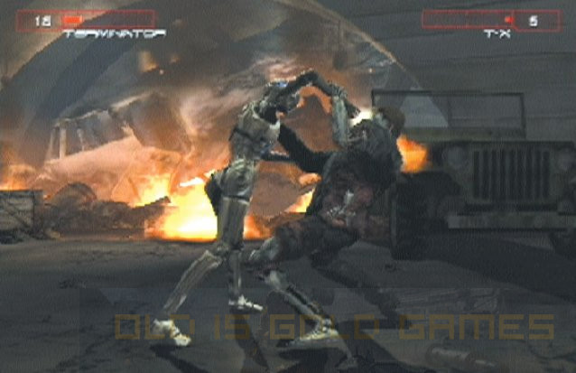 Terminator 3 Rise of Machines Features