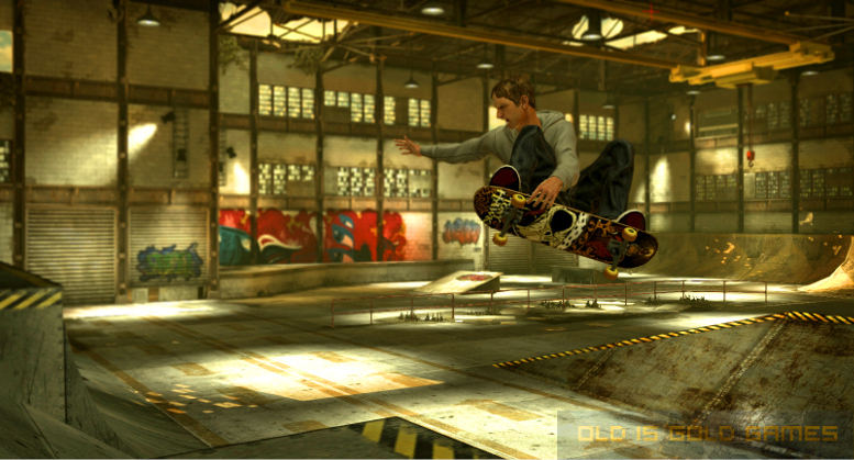Tony Hawks Pro Skater HD Features