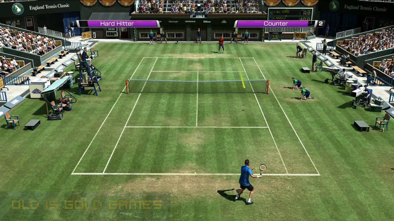 Virtua Tennis 4 Features
