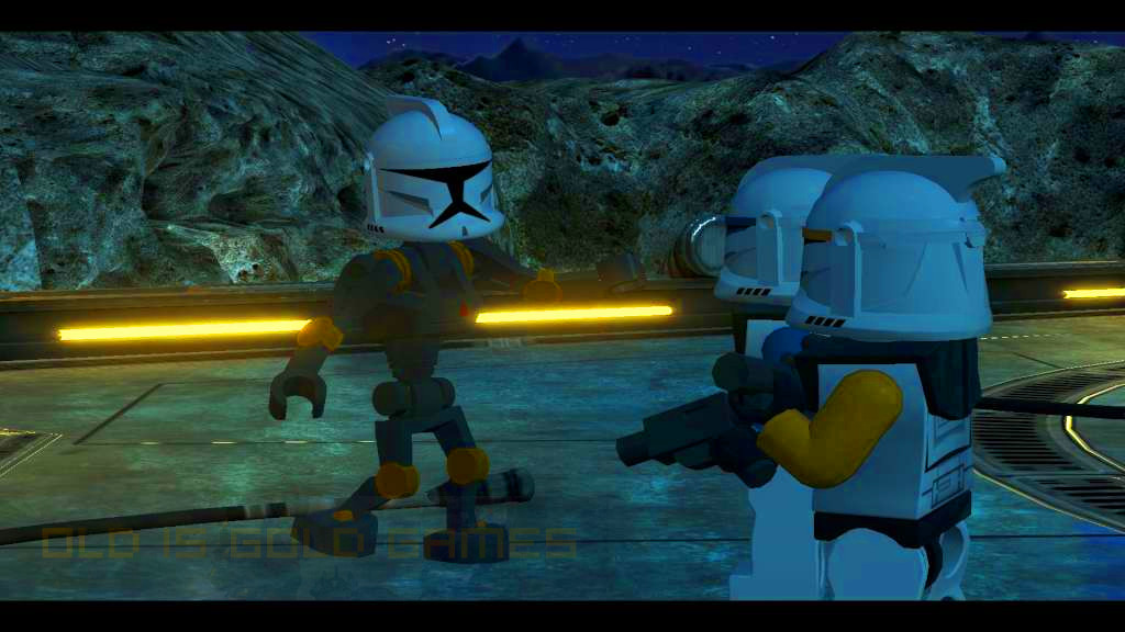 LEGO Star Wars III The Clone Wars Features