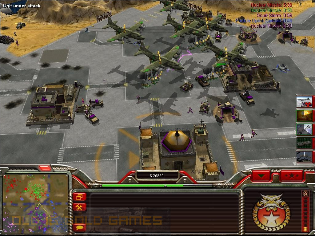 Command and Conquer Generals Zero Hour Features