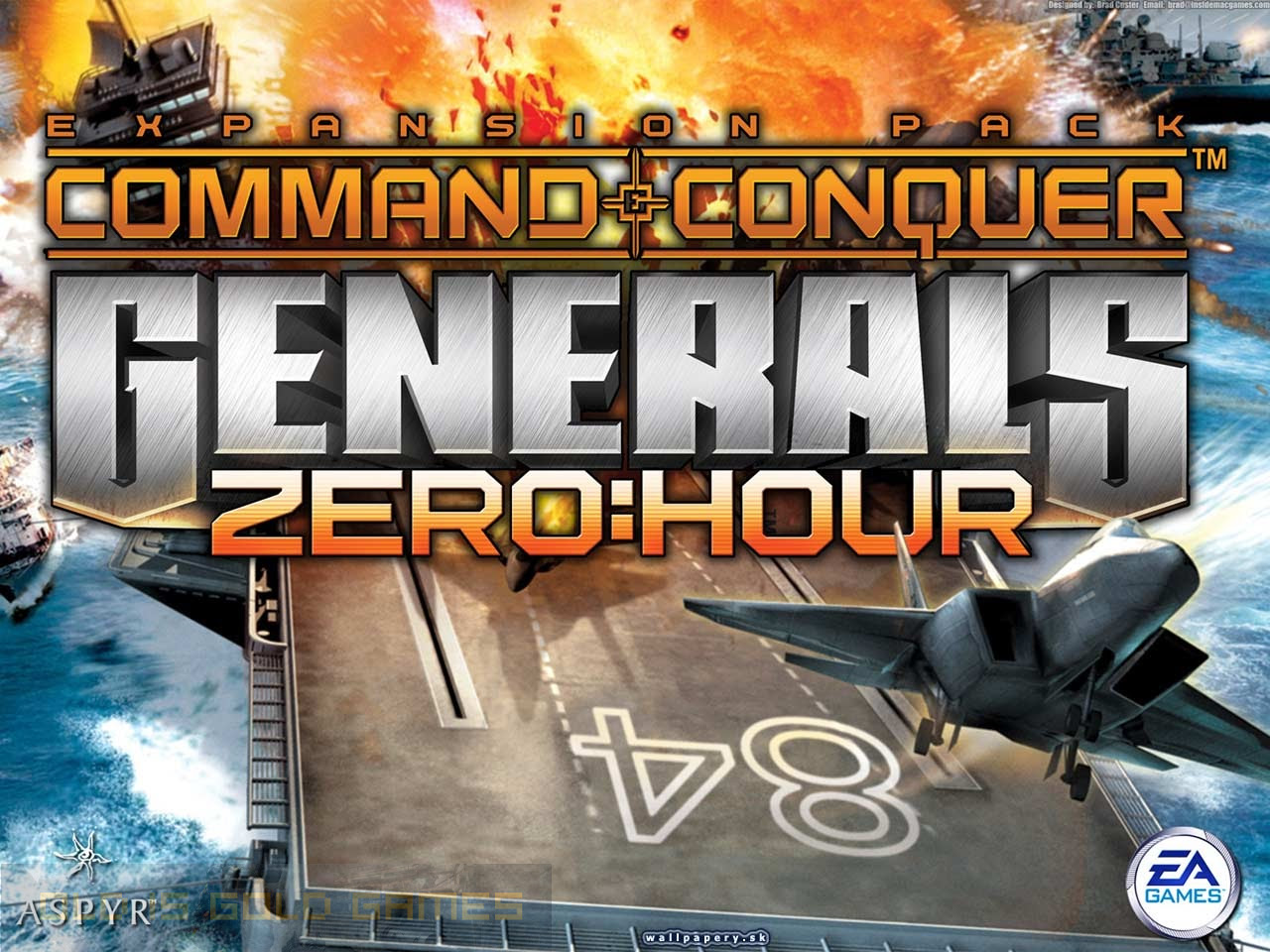 command conquer generals zero hour download full game free pc