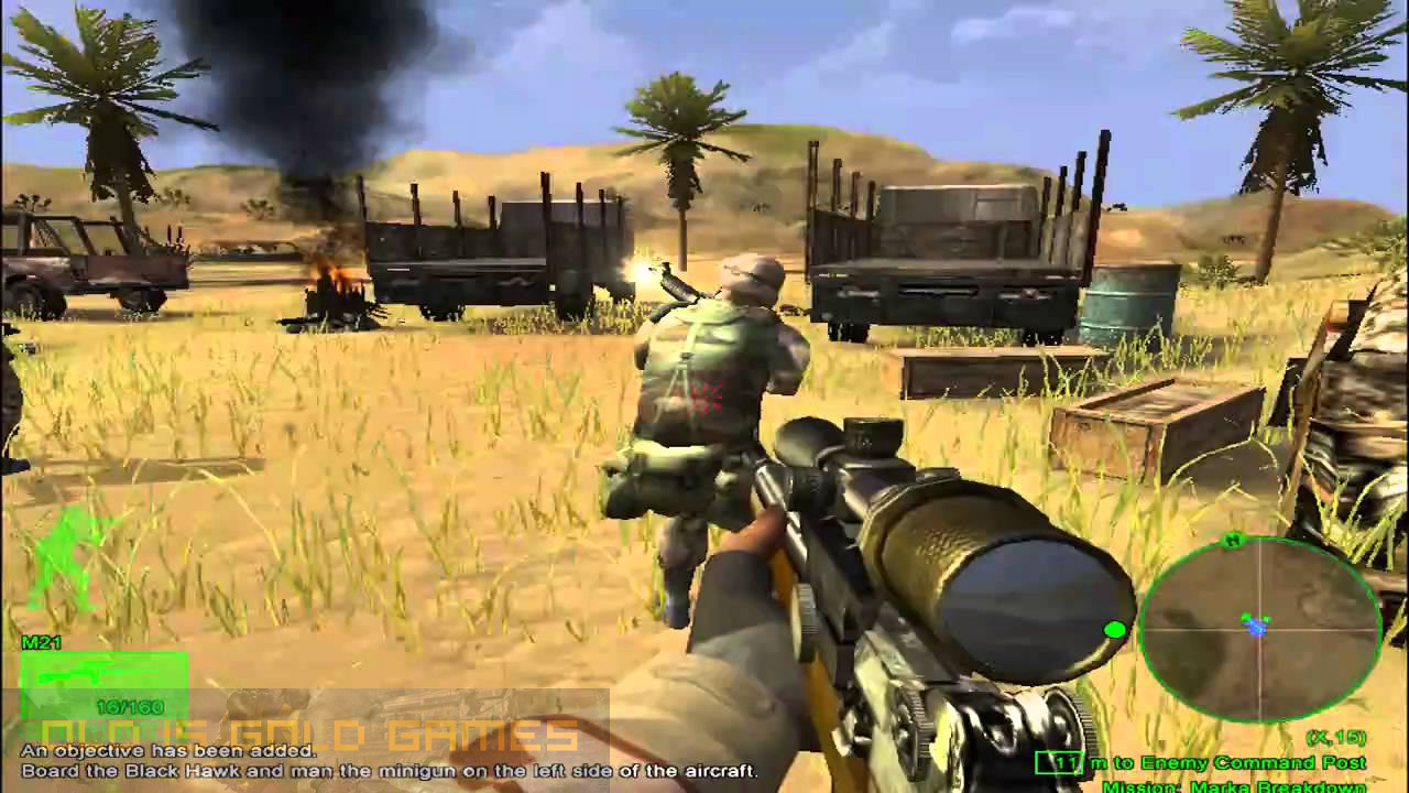 Delta Force Black Hawk Down Features
