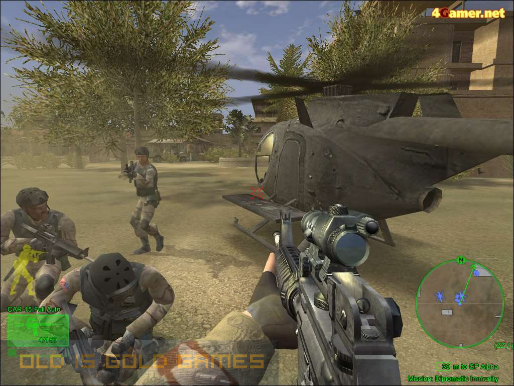Delta Force Black Hawk Down Setup Free Download
