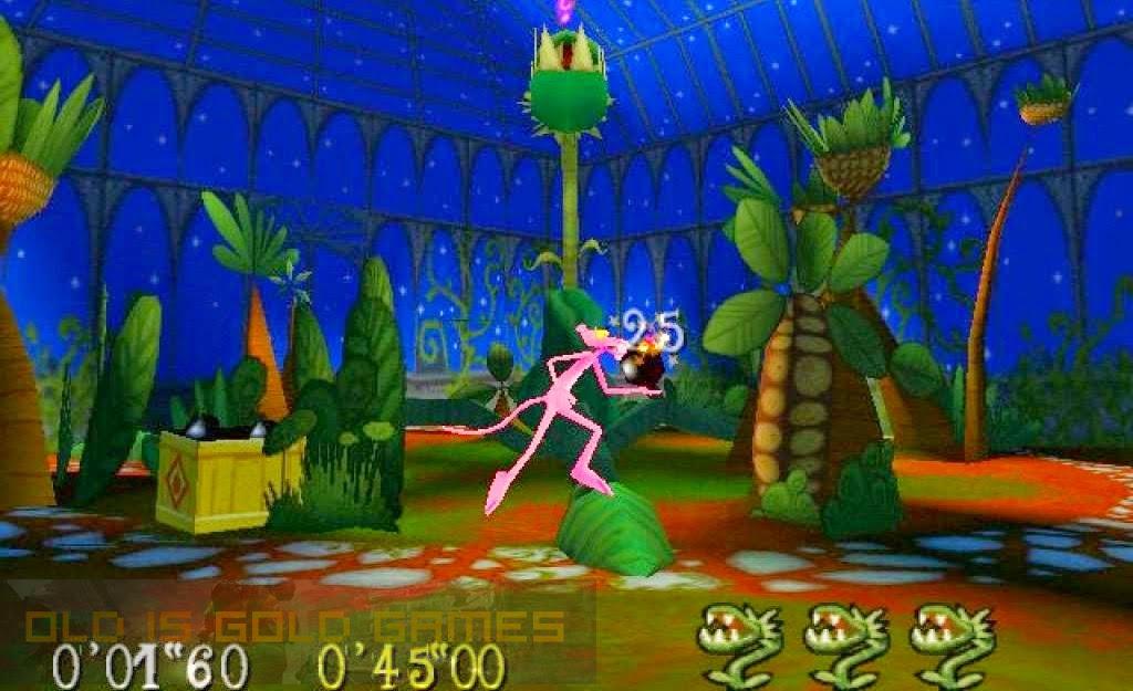 Pink Panther Pinkadelic Pursuit Features