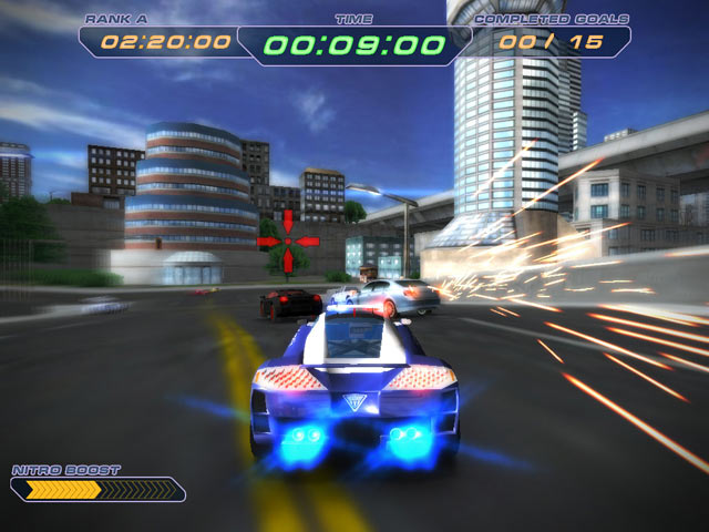Police SuperCars Racing Features