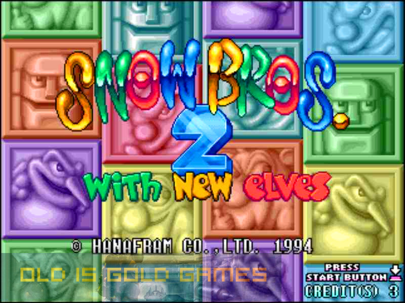 Snow Bros 2 Full Version Free Download
