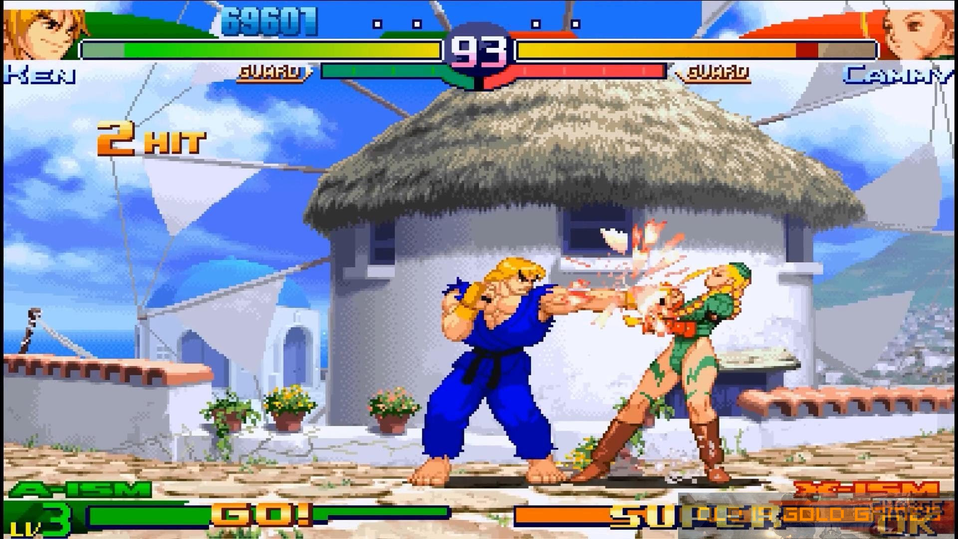Street Fighter Alpha 3 Game Features