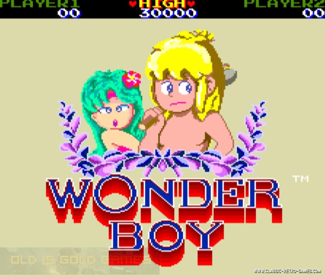 Wonder Boy Game Free Download
