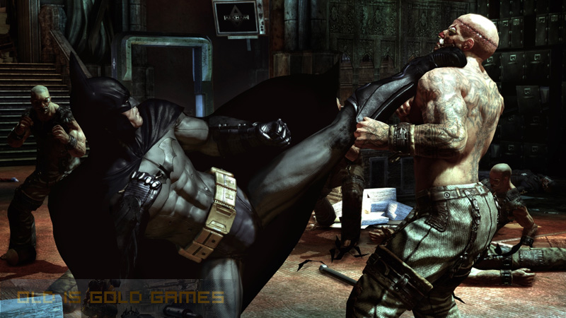 Batman Arkham Asylum Features